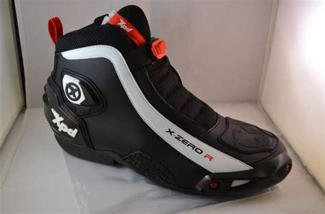 Sepatu Xpd X Zero xpd x zero r la taille ne fait pas tout objectif moto