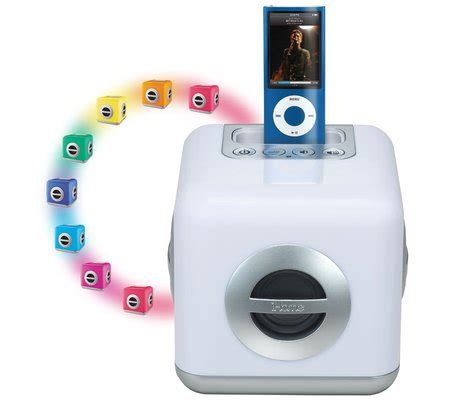 ihome speaker color changing ihome ih15 led color changing stereo system with built in