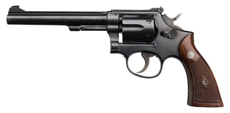 k d smith auctions smith wesson 5 screw da k 22 revolver 22lr caliber 6