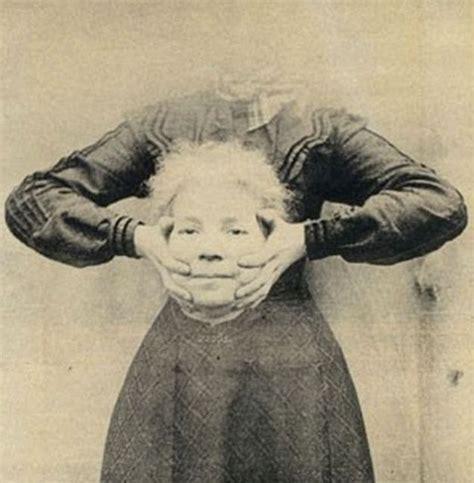 la ritratta su una grata in una celebre foto i ritratti decapitati dell epoca vittoriana creativit 224