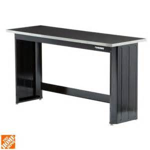 home depot workbench husky 6 ft stainless steel top workbench 72wb01ss thd