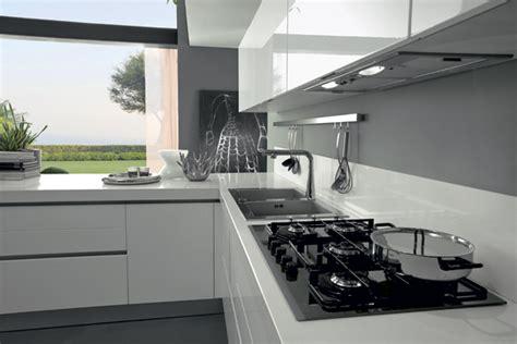 imagenes de cocinas minimalistas blancas cocinas blancas lacadas