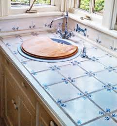 Tile Kitchen Countertop Designs by Ceramic Tile Kitchen Countertops