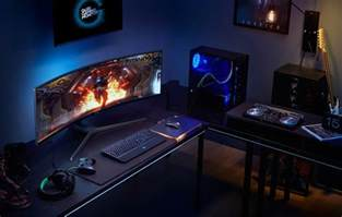 samsung launches the world s largest qled gaming monitor monitors news hexus net