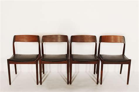 4 eettafel stoelen scantic mobelvaerk 4 deense palissander eettafel stoelen