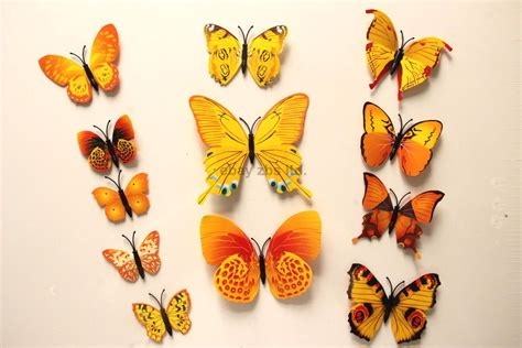 your supermart 12pcs 3d butterfly free shipping 12pcs pvc 3d butterfly wall decor