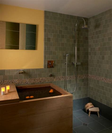 japanese shower deep soaking japanese bathtubs turn the bathroom into a spa