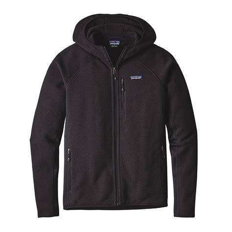 Sweater Hoodie patagonia mens performance better sweater fleece hoody black