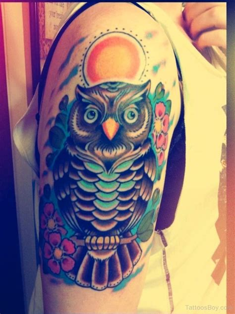 simple owl tattoo design bird tattoos designs pictures page 46