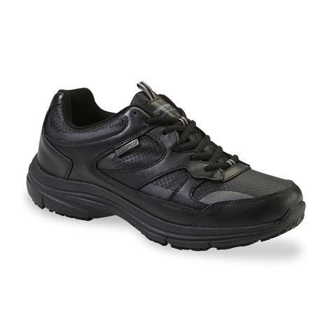 black work shoes diehard s mac soft toe black work shoe clothing