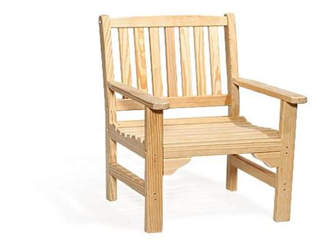 Wooden Garden Chairs With Arms Outdoor Furniture Wooden Patio Chair