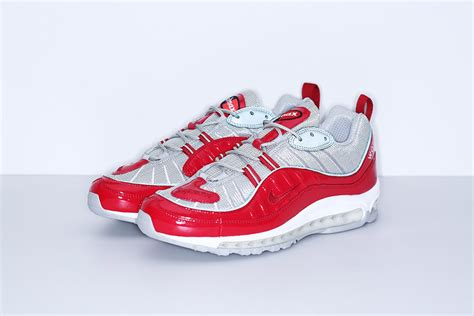 supreme shoes supreme unveils nike air max 98 collab info photos
