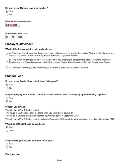 printable version of hmrc starter checklist pay as you earn paye form starter checklist low