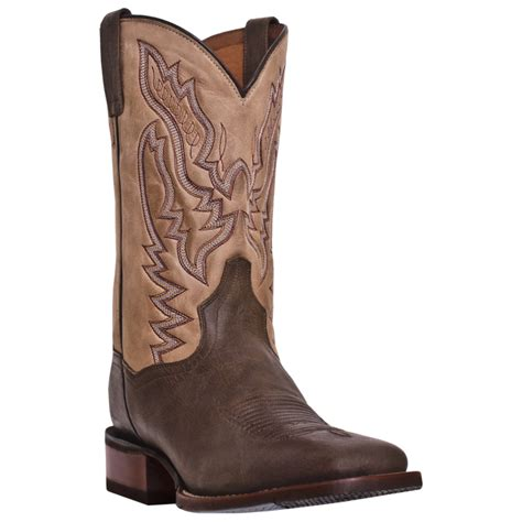 cowboy boot insoles dan post mens cowboy boots gel insole square toe brown