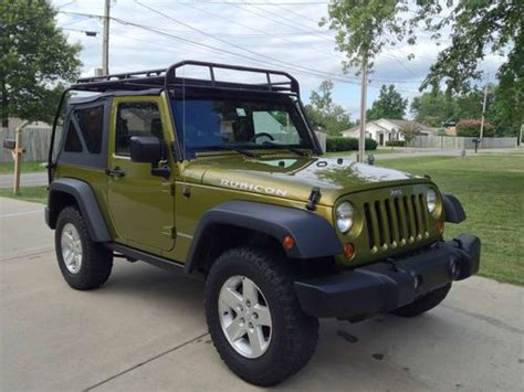 Roof Rack For Jeep Wrangler Top Sell Used 2007 Jeep Wrangler Rubicon 2dr Soft Top