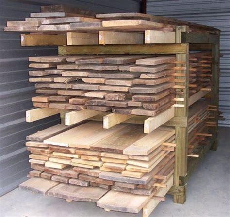 Storing Lumber In Garage by Best 25 Lumber Storage Ideas On