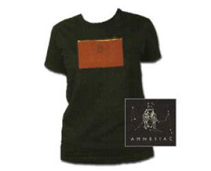 T Shirt Kaos Anak Radiohead 2 Zero Class Wear womens tops amnesiac radiohead