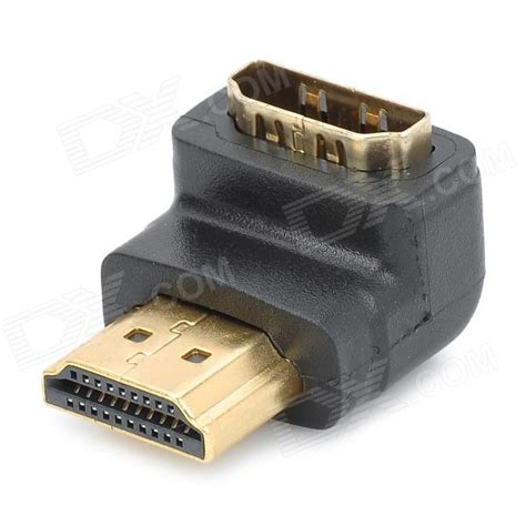 Konektor Converter Adapter Hdmi To Hdmi L Shape Siku letter l shaped hdmi v1 4 to angle adapter