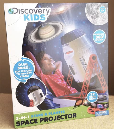 light up the ceiling with discovery space projector
