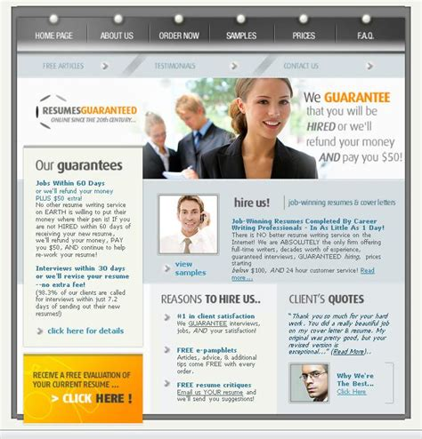 guaranteed resume writing services review of resumesguaranteed