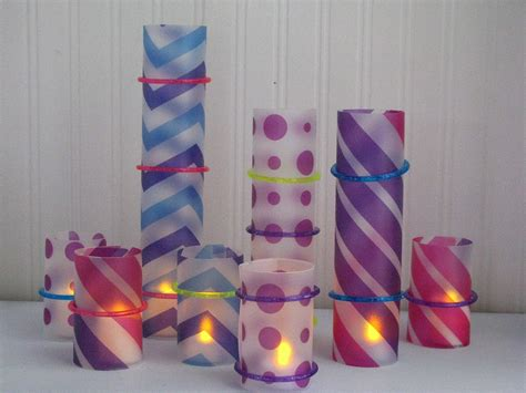 dollar store crafts make colorful candle wraps dollar store crafts
