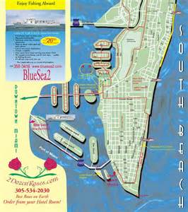 South Beach Miami Map by South Beach Street Map Www Imgarcade Com Online Image