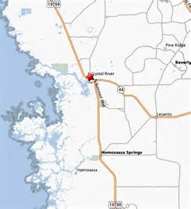 Map Of Crystal River Florida by Crystal River Florida Map Of Crystal River Or Directions