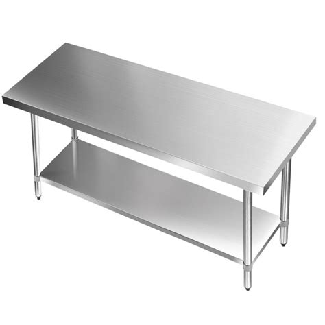 stainless steel kitchen benches stainless steel kitchen work bench table 1524mm buy