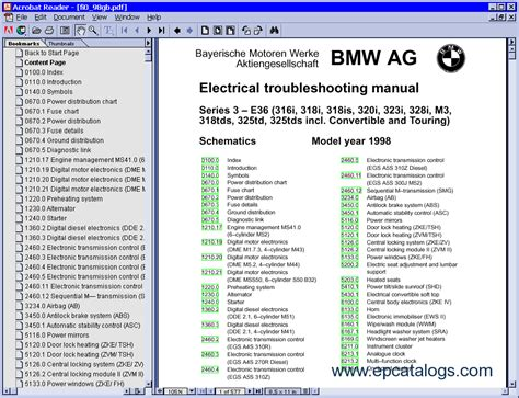 online auto repair manual 1999 bmw z3 security system bmw electrical troubleshooting manual e36