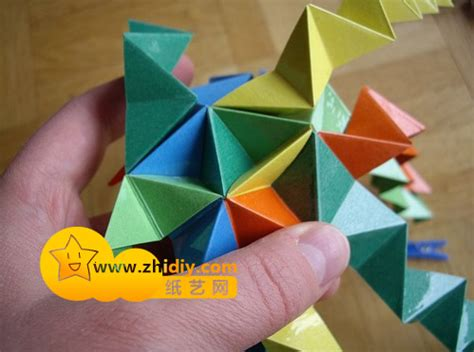How To Make A Polyhedron Out Of Paper - 多面体几何折纸教程 纸艺网