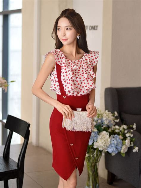 New Korean Style Blouse Chiffon Combination With Mote 140 best blouses images on shirts blouses and