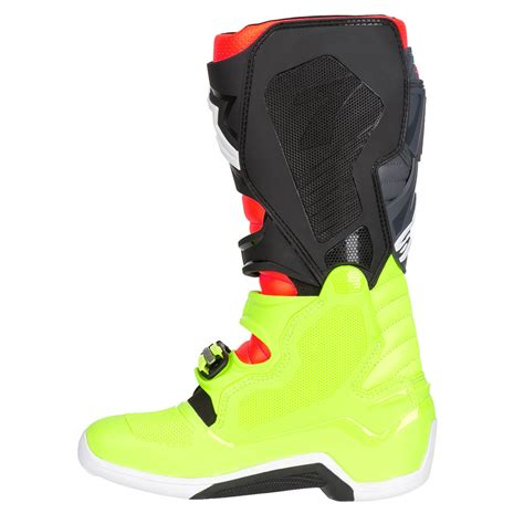 Alpinestars Tech 7 Dewasa alpinestars tech 7 boots yellow fluo fluo grey black sixstar racing