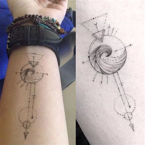 25 best ideas about aquarius tattoo on pinterest arrow