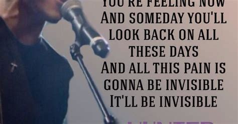 invisible tattoo lyrics hunter hayes invisible hunter hayes pinterest