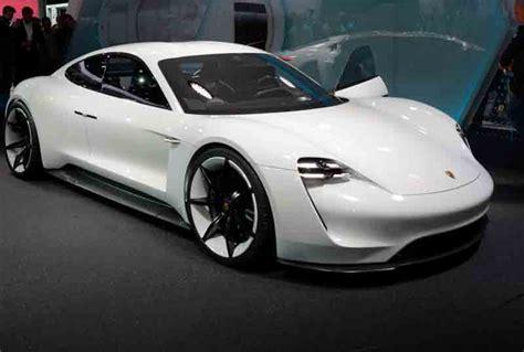 2019 Porsche Electric Car by Porsche S Version Of The Electric Car Mission E Is