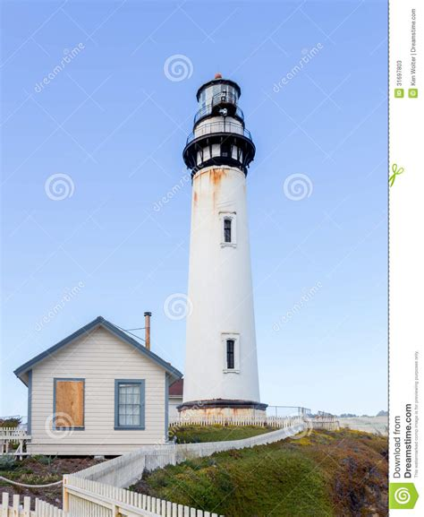 san francisco lighthouses map pigeon point lighthouse stock photos image 31697803