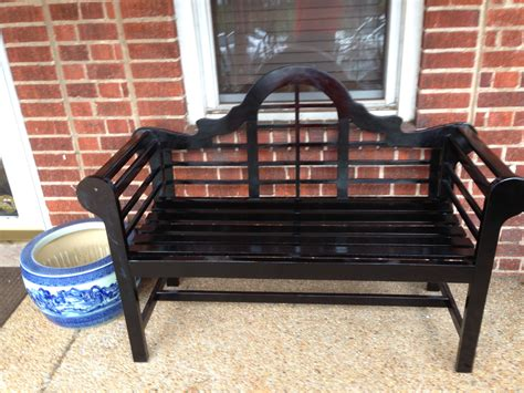 black lutyens bench putting together a black lutyens bench at home can be a