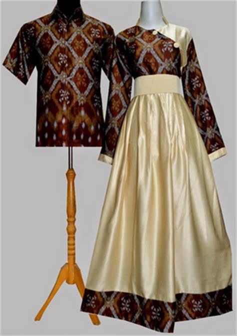 Baju Muslim Batik Brokat model baju muslim batik kombinasi brokat
