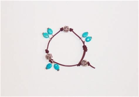RUSTIC LEATHER BRACELET « Bracelets: Jewelry