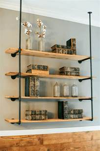 pipe shelves diy diy open pipe shelving magnolia market