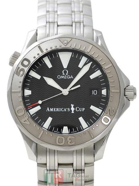 Omega Seamaster Aaa Kaca Sapphire r 233 plicas de omega seamaster 300 america s cup 2533 50