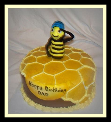 honey bee birthday cake cakecentral