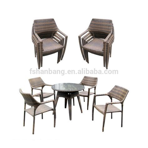 Coffee Shop Table And Chairs 2016 New Outdoor Resin Wicker Stackable Coffee Shop Tables And Chairs Set Buy Modern Furniture