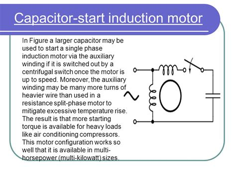 starting capacitor of a single phase motor 28 images