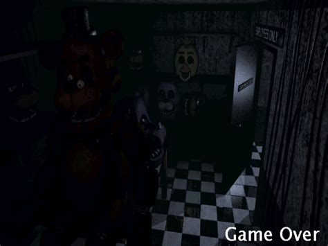 freddys game over nights at five halloween review five nights at freddy s cokieblume