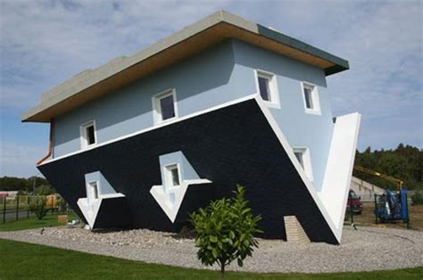 inverted house designed inside out