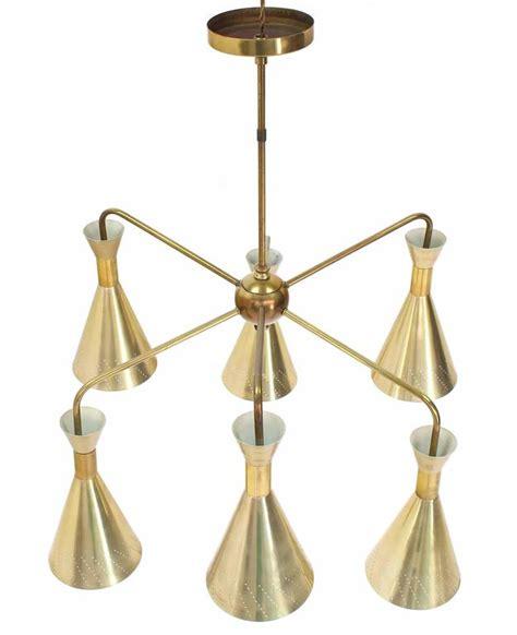 Sputnik Style Chandelier Cone Shades Sputnik Style Chandelier Light Fixture For Sale At 1stdibs