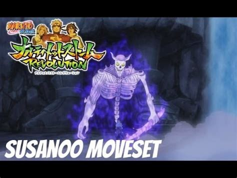 naruto ultimate ninja storm revolution ems sasuke susanoo awakening gameplay youtube