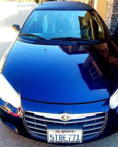 2006 chrysler sebring mpg purchase used 2006 chrysler sebring convertible 2 4l
