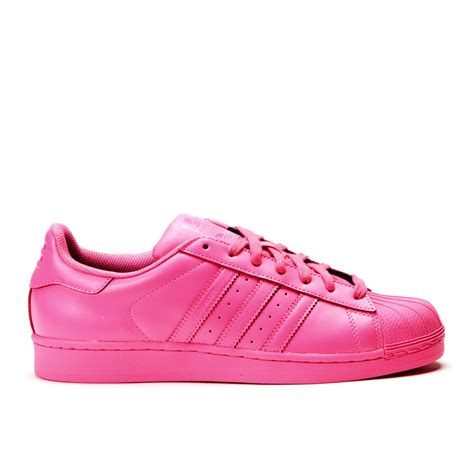Replika Adidas 08 Htm Pink 61 adidas x pharrell williams superstar quot supercolor pack quot semi solar pink s41839